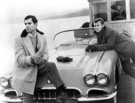 "George Maharis and Martin Milner in ""Route 66"""
